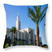 La Temple Children Throw Pillow