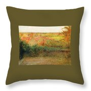 La Terrasse Throw Pillow