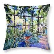 La Tonnelle The Arbor Throw Pillow
