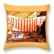 La Verdura Throw Pillow