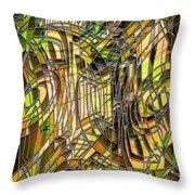 Labirinto2 Throw Pillow