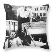Labor Strike, 1912 Throw Pillow