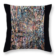 Labyrinth Of Sorrows Throw Pillow