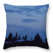 Lac-st-jean Way Throw Pillow