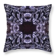 Lace Ice On Monadnock - 4 Throw Pillow