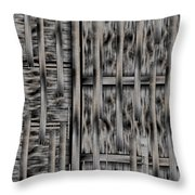 Lace Landscape Abstract Shimmering Lovely In The Dark Throw Pillow