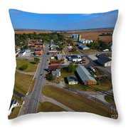 Lacrosse Indiana Throw Pillow