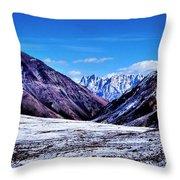 Ladakh, India, Landscape 2 Throw Pillow