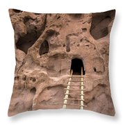 Ladder To The Ruin Throw Pillow
