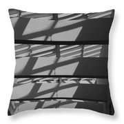 Ladders In The Sky Throw Pillow