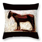 Laddy Throw Pillow