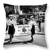 Ladies Auxiliary Of East Durham Throw Pillow
