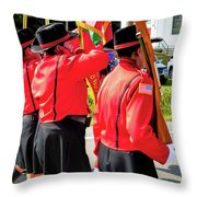 Ladies Auxiliary Palenville Fire Department 8 Throw Pillow