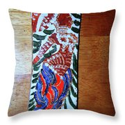 Ladies Await 6 Throw Pillow