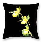 Ladies Trio Throw Pillow