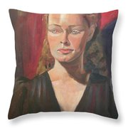 Lady Ann Throw Pillow