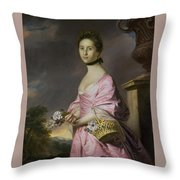 Lady Anstruther Throw Pillow