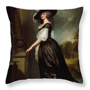 Lady Charlotte Milnes Throw Pillow