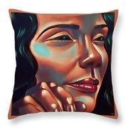 Lady Coretta Throw Pillow