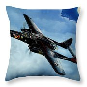 Lady In The Dark Throw Pillow