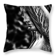 Lady In The Garden 1 Throw Pillow