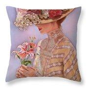 Lady Jessica Throw Pillow