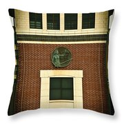 Lady Justice Of The New Century Throw Pillow