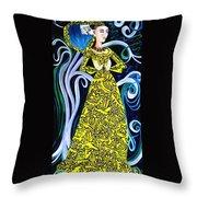 Lady Lou Throw Pillow