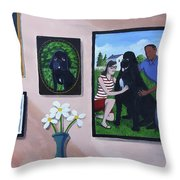 Lady Macbeth Family Gallery Throw Pillow