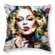 Lady Maddy Throw Pillow