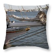 Lady Maryland Throw Pillow