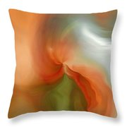 Lady Of Dreams Throw Pillow