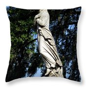 Lady Of Grace Throw Pillow