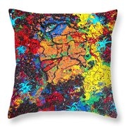 Lady Of Mystery Throw Pillow