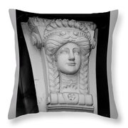 Lady Of The House Athlone Ireland Throw Pillow