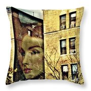 Lady Of The House Throw Pillow