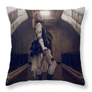 Lady Of The Manor Throw Pillow