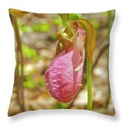 Lady Slipper 2040 Throw Pillow