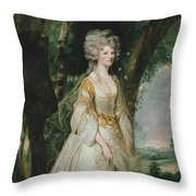 Lady Sunderlin Throw Pillow