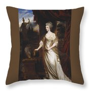 Lady Talbot Throw Pillow