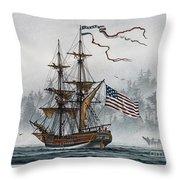 Lady Washington Throw Pillow by James Williamson
