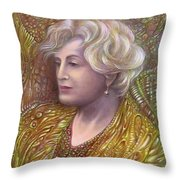 Lady Z Throw Pillow