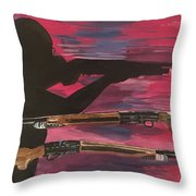 Ladypower  Throw Pillow