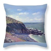 Ladys Cove Throw Pillow