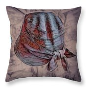 Lady's Hats Throw Pillow
