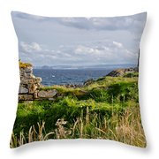 Lady's Tower Throw Pillow
