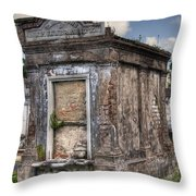 Lafayette Crypt 2 Throw Pillow