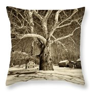 Lafayette Headquarters Throw Pillow