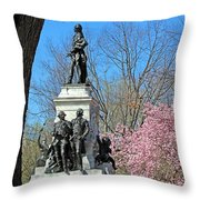 Lafayette Square Named For General Marquis Gilbert De Lafayette Throw Pillow