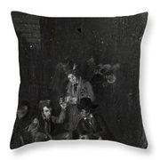 Lafitte Brothers Throw Pillow